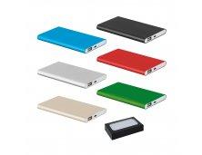 57344 - Bateria Portátil/Power Bank Slim em Alumínio