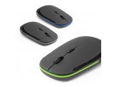 57398 - Mouse Wireless em ABS com Acabamento Emborrachado