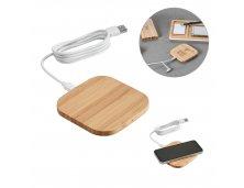 57910-2 - Carregador Wireless em Bambu