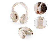 57939 - Fones de Ouvido Dobráveis Wireless em Fibra de Palha de Trigo e ABS