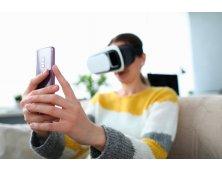 97087 - Óculos de Realidade Virtual em ABS para Celulares