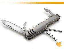 CN-00310S - Canivete em Metal Personalizado 5 Funções