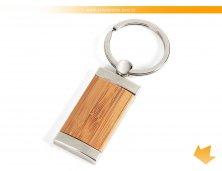 CH-00333S - Chaveiro em Bambu/Metal