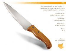 UB-00503-900 - Faca para Churrasco Personalizada
