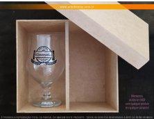 1911 - Kit Especial em Caixa MDF com 1 Taça Dublin 400ml