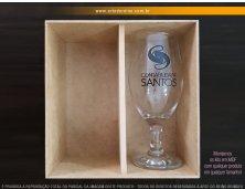 1912 - Kit Especial em Caixa MDF com 1 Taça Windsor 330ml
