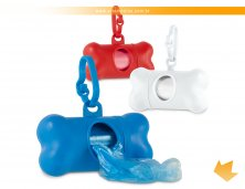 95103 - Chaveiro Pet de Higiene com Porta Sacola