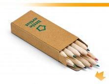 91931_60 - Mini Lápis de Cor com 10 Peças