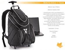 iMA-00311S - Brinde Mochila para Notebook com Rodinha Personalizada