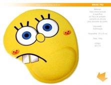 061114 - Brinde Mouse Pad em Sublimação com Apoio Ergonômico Personalizado