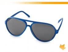 38250-14AR - Óculos de Sol Azul Aviador tipo Rayban