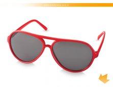 38250-05AR - Óculos de Sol Vermelho Aviador tipo Rayban