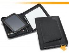 92059_03 - Pasta Convenção em Couro Sintético com Porta Tablet