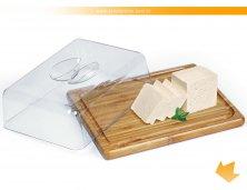 PF-00303S - Porta Frios/Manteiga em Bambu