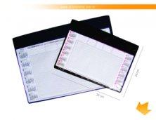 47L - Risque Rabisque Pequeno em PVC Personalizado com Refil