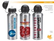 22045 - Brinde Squeeze em Alumínio (Sublimação) 500 ml Personalizada