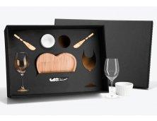 KT-90006 - Conjunto Petisco e Vinho - 8 peças