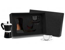 KT-90151 - Conjunto para Café com Cafeteira Italiana - 5 peças