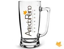 ARCC-5902 - Brinde Promocional Caneca de Chopp ou Cerveja Taberna 600 ml Personalizado