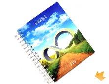 ARCA-A5 - Brinde Promocional Caderno A5 Personalizado - Dados Variáveis